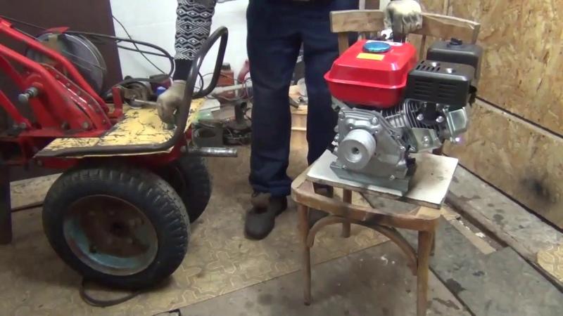 Двигатель FORZA 168F 2 6 5 л с на мотоблок Луч Нева МБ 1