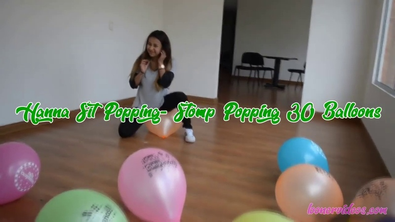 (24) Hanna Sit Popping Stomp Popping 30 Balloons