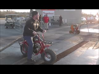 Reaper Daily Driver Mini Bike Grudge Matches at Holly Springs Mississippi