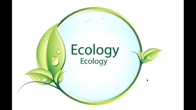 How to create a ecology natural logo in Adobe illustrator