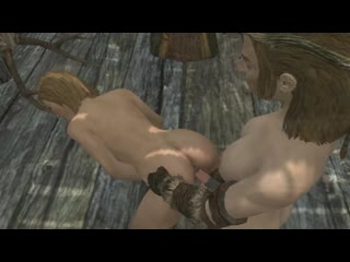3d shemale witch fucks knight fantastic dick horse cum, futanari porno game
