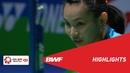 YONEX All England Open WS Semifinals Highlights BWF 2019