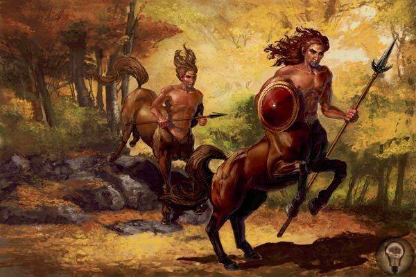 Загадки древности: кентавры Принято считать, что кентавр являлся мифологическим существом, придуманным древними греками. Представлял он собой гибрид человека и лошади. Туловище лошадиное, а