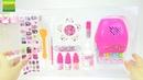 Открываем детский игровой набор для маникюра Пластилин ПЛЕЙ ДО Фиксиси и другие игрушки