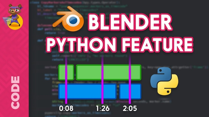 Learn to Code Blender Features in Python Add-On Programming Tutorial