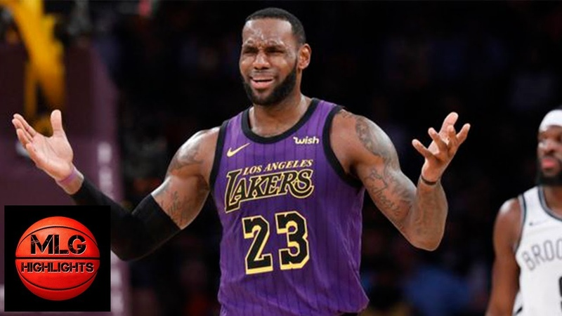 Los Angeles Lakers vs Brooklyn Nets Full Game Highlights | March 22, 2018-19 NBA Season