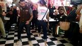 Lucy's Diner _ aniversario#4 Fer y Brenda bailando Rockabilly