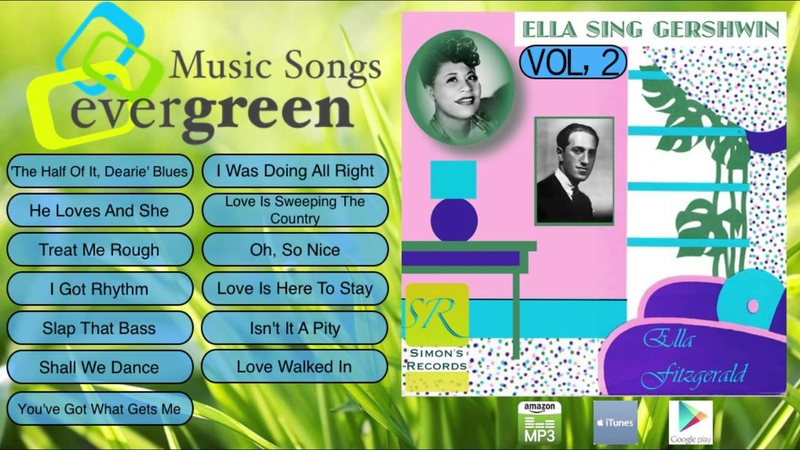 Ella Fitzgerald -- Ella Sings Gershwin Vol 2 to 2 Full Album