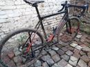 Был подготовлен в нашей мастерской кроссовый велосипед Cube Cross Race. Вроде бы только с витрины, н