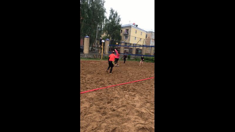 Первый пляжный турнир по волейболу Динамо