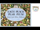Each Peach Pear Plum - Books Alive!