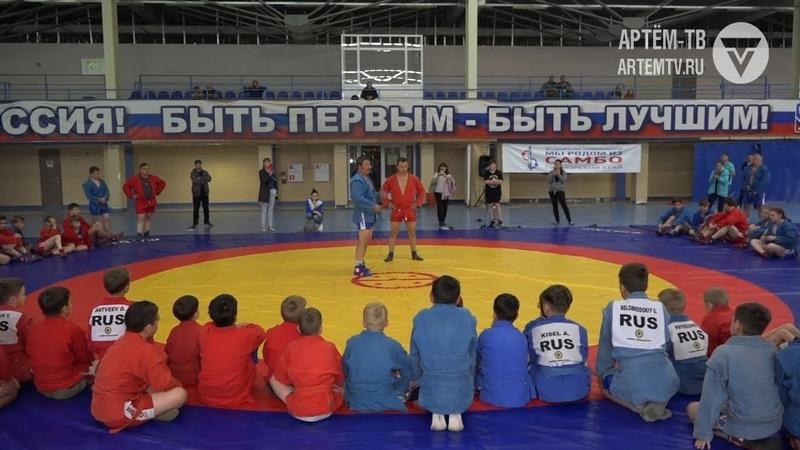 Александр Аксёнов провёл в Артёме мастер-класс