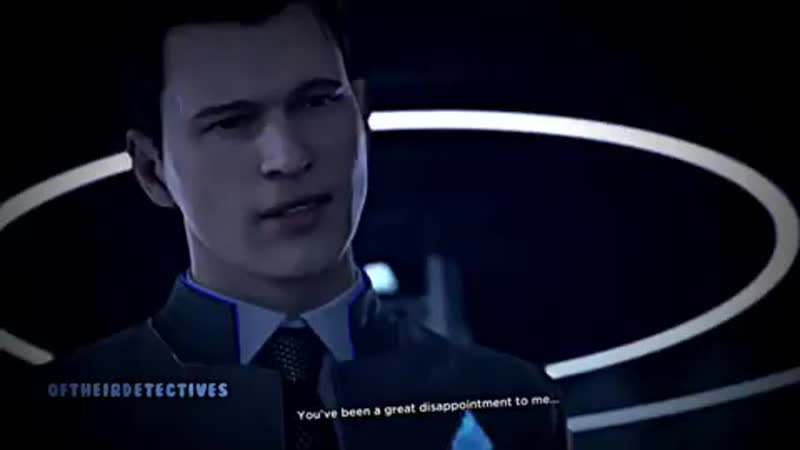 Connor you can tell I gave up. (detroit become human) [oftheirdetectives]