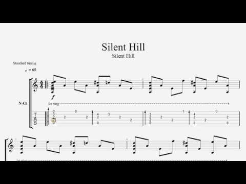 Silent Hill fingerstyle guitar FRE tab