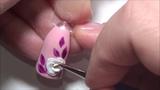Лепка 4D гелемГЕЛЬ-ПластилинОБЪЁМНАЯ РОЗА на ногтяОбъемный Дизайн Ногтей