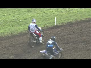 Jamie law crash - emx2t presented by fmf racing race 2 #motocross