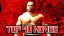 Top 40 Moves Of Rusev