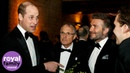 Princes Charles, William and Harry join a host of celebrities at 'Our Planet' premiere