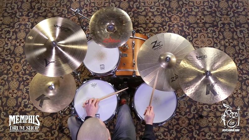 Used Zildjian 19 Z Custom Thrash Ride Cymbal - 2003g (UZIL19ZCTR-1123017CC)