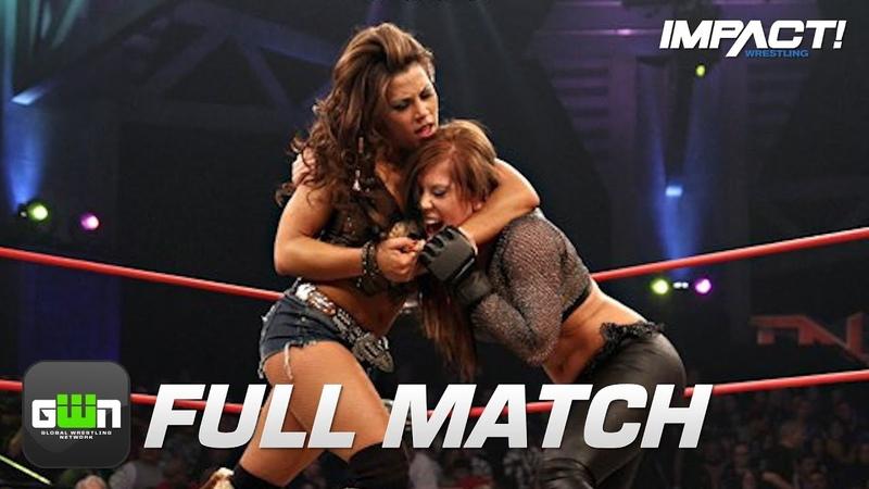 Madison Rayne vs Mickie James: FULL MATCH (TNA Genesis 2011)   IMPACT Wrestling Full Matches