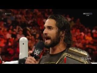 WH | How Stupid- Sheamus Vs. Seth Rollins Raw 07.09.15