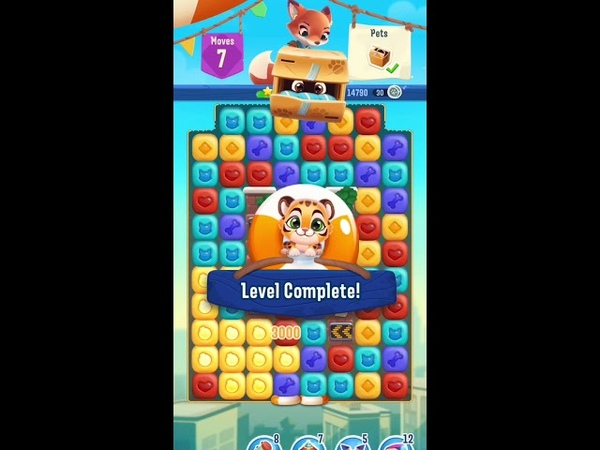 Pet Rescue Puzzle Saga Level 263 Gameplay iOS Android