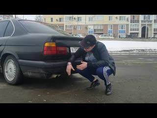 BMW E34. ТРЕШ ОБЗОР.