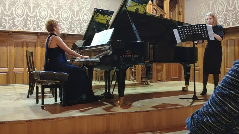 Соната для гобоя и фортепиано 2015 Исполняют Юлия Кульчинская гобой и Анна Татарчук фортепиано 23 02 2019