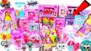 18 L.O.L Surprises ❤ Dolls Hairgoals UNDER WRAPS FASHION CRUSH 18 РАЗНЫХ ЛОЛ ШАРЫ Fake LOL Dolls LQL