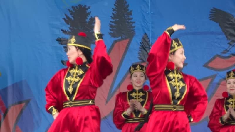 Алтн золото танец Шарка барка