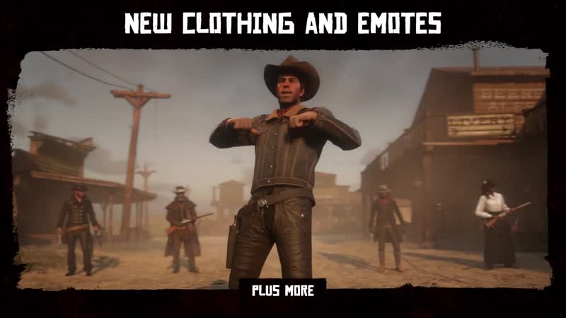 Red Dead Online Early Access Content May 2019 ¦ PS4