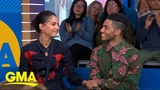 The stars of 'Aladdin' talk about working with Will Smith l GMA