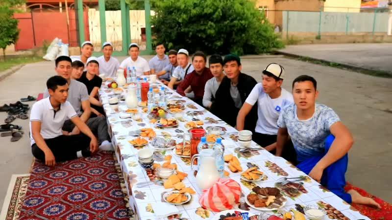 98 дердің ауылында берген ауызашары ШҰБАРСУ 2019