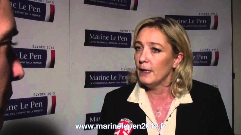 Dauphine des milices gauchistes empêchent Marine Le Pen de débattre avec les étudiants