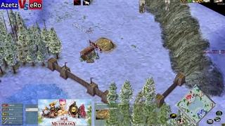 Epic Greek Mirror eRo (Posse) vs Azetz (Zeus) 1 hour classic game!