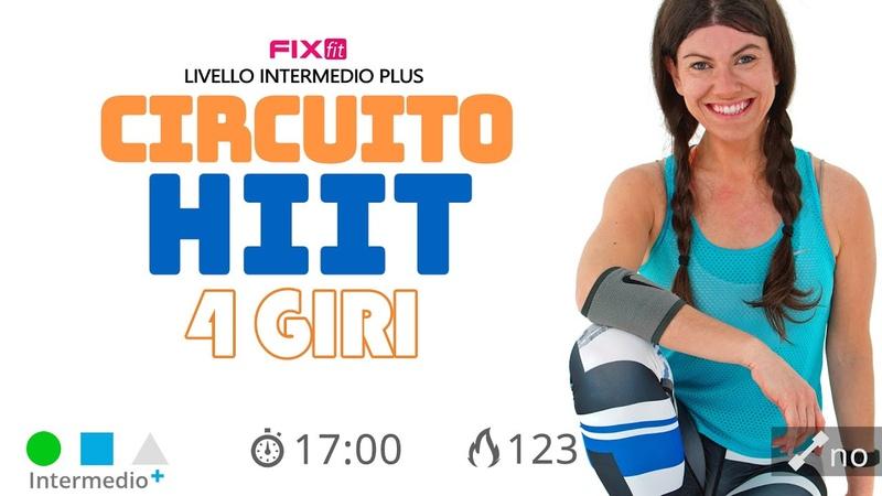 Fixfit - HIIT Total Body   Интервальная тренировка в 4 круга для среднего уровня подготовки