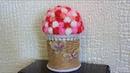Корзинка из джутового каната. Подарок своими руками. Как сделать корзинку. How to make a basket