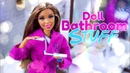 DIY How to Make Doll Bathroom Stuff Electric Toothbrush Tooth Paste Bath Tub more