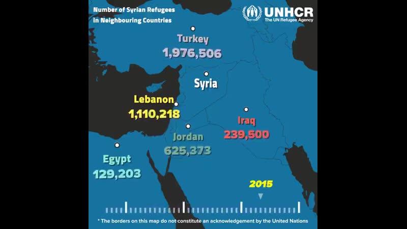 Сирия: 8 лет войны привело к появлению миллионов беженцев