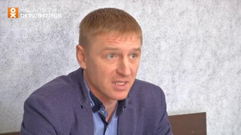Дмитрий Бедарев о выступлении ХК «Шахтёр» в ССХЛ, 18.04.19 г. («27 канал»)