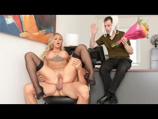 Alison avery - sissy husband watches as his wife gets cock for lunch [2020.02.25, all sex, big tits, blonde, blowjob]