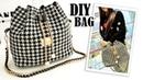 DIY SWEET SHOULDER BAG DESIGN Chains Fashion Bucket Bag Tutorial