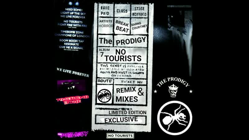 The Prodigy - Timebomb Zone (By J-MAD CAT XCT-303, Remix)