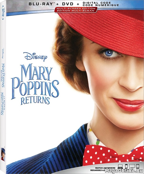Мэри Поппинс возвращается / Mary Poppins Returns (2018/BDRip/HDRip)