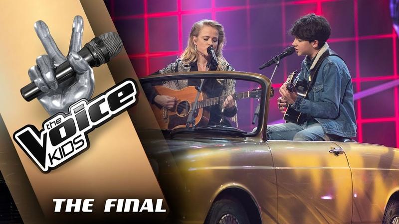 Ralph Ilse DeLange – Nothing Breaks Like A Heart| The Voice Kids 2019 | De finale