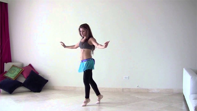 StepFlix Danza Arabe, nivel 3 avanzado, combinación 1