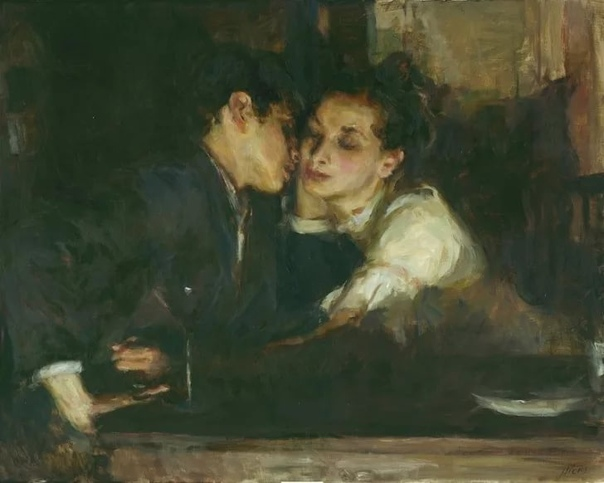 Любовь и поцелуи в полотнах Рона Хикса