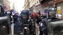 EVANGELION vs POLICE l FRANCE PROSTESTOR