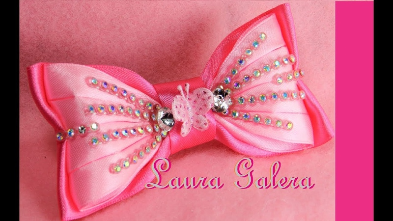 Moños para niña y bebe de fiesta Bows for girl and baby party Laço de fiesta
