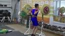 Бессонов Дима, 14 лет, вк 45 Приседания 45 кг Личный рекорд!